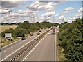 SK8935 : Northbound A1 from Low Road by David Dixon