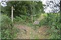 TL6606 : Footpath to the A414 by Julian P Guffogg