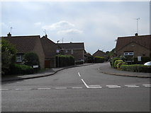 TF1505 : St. Benedict's Close, Glinton by Paul Bryan