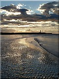 NJ2270 : West Beach, Lossiemouth by Walter Baxter