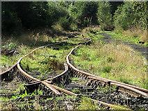NO3700 : Railway track by William Starkey