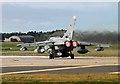 NJ2170 : A Tornado at RAF Lossiemouth by Walter Baxter