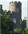 SD2187 : A turret on Broughton Tower by Karl and Ali
