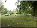 SJ7660 : Outdoor gym in Sandbach Park by Stephen Craven