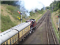 SK5612 : Lunchtime express at Rothley by Alan Murray-Rust