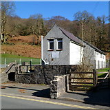 SH5848 : Beddgelert telephone exchange by Jaggery