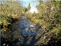 SH5848 : Afon Colwyn in Beddgelert by Jaggery