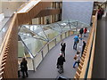 SP5007 : South Crystal skylight, New Mathematical Institute, Oxford by David Hawgood