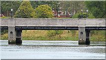 J3371 : The King's Bridge, Belfast (3) by Albert Bridge