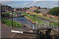 SJ4077 : Whitby Locks, Shropshire Union Canal by Stephen McKay