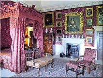 SE4017 : Crimson Room, Nostell Priory by David Dixon