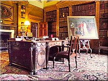 SE4017 : The Library, Nostell Priory by David Dixon