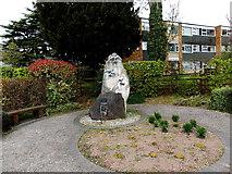 SO7845 : Royal British Legion Garden of Remembrance, Barnards Green, Malvern by Jaggery