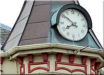J5081 : Clock, Main Street, Bangor by Albert Bridge