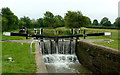 SP6694 : Pywell's Lock north-east of Fleckney, Leicestershire by Roger  Kidd