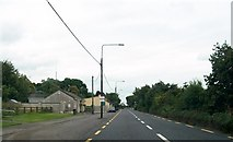 N6468 : View north along the N52 (Delvin Road) at Clonmellon by Eric Jones