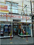 SY6990 : Dorchester Travel, South Street by Basher Eyre