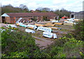 SO8216 : Timber yard in Bristol Road Gloucester by Jaggery
