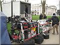 TQ3877 : Film crew's equipment, Maritime Greenwich by Robin Stott