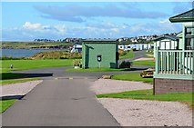 NO6207 : Sauchope Links caravan park by Jim Barton