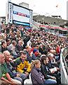 TQ2682 : Lord's: pre-match nerves by John Sutton