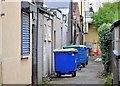 J3773 : Suburban entry, Belfast by Albert Bridge