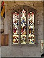 SD8706 : Stained Glass Window, St Leonard's Church by David Dixon