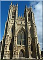 TA0339 : The west end of Beverley Minster by Robin Drayton