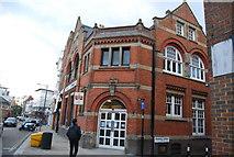 TQ3370 : Gipsy Hill library by N Chadwick