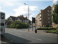 SP1195 : Manor Hill joins Birmingham Road by Robin Stott