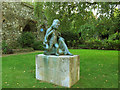 TQ7468 : Rochester Cathedral: sculpture by Stephen Craven