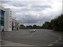 SK5802 : King Power Stadium car park, Leicester by Richard Vince