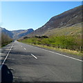SH6660 : A5 heads west towards Llyn Ogwen in Snowdonia by Jaggery