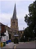 SK3871 : Church Spire by Gordon Griffiths