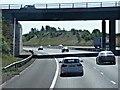 SK0705 : M6 Toll Road, Walsall Road Bridge by David Dixon