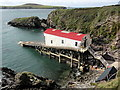 SM7225 : The Lifeboat Station at St Justinian's by Tony Atkin
