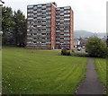 SS6593 : Multi-storey flats in Matthew Street Swansea by Jaggery