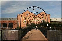 SK3688 : The Bailey Bridge by Graham Hogg