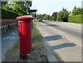 TF3141 : Post box along London Road by Mat Fascione