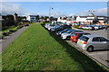 SO5012 : The Waitrose car park, Monmouth by Philip Halling