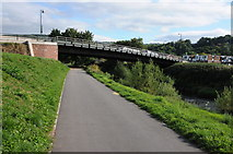 SO5012 : New bridge over the River Monnow by Philip Halling