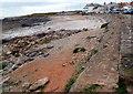 SS8076 : Porthcawl shoreline near Hutchwns Point by Jaggery