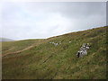SD7694 : Disused lime kiln at the head of Grisedale by Karl and Ali