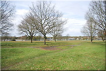 SU8651 : Open space, Military Town by N Chadwick