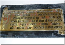 ST6316 : Sherborne Abbey: memorial (xvii) by Basher Eyre