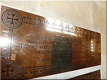 ST6316 : Sherborne Abbey: memorial (xxxiii) by Basher Eyre