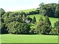 ST3494 : House on the hillside above Lan Sor Mill by Christine Johnstone