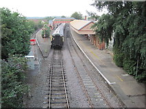 SP1955 : Stratford-upon-Avon railway station, Warwickshire by Nigel Thompson