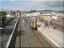 NS2059 : Largs railway station, Ayrshire by Nigel Thompson