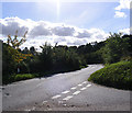 TG1312 : Costessey Lane, Ringland Hills by Adrian Cable